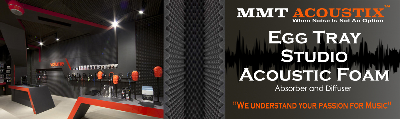 Acoustic Foam Panels | Soundproofing Acoustic Panel | Noise